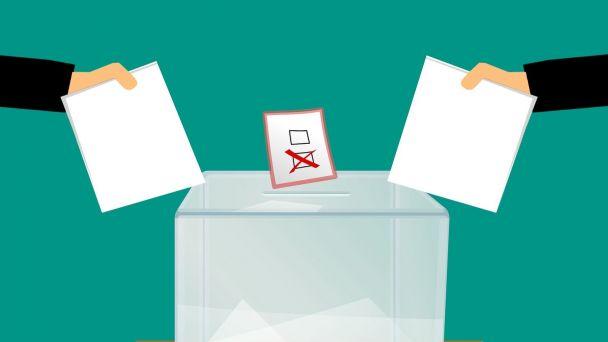 Poučenie  a žiadosť - voľba poštou