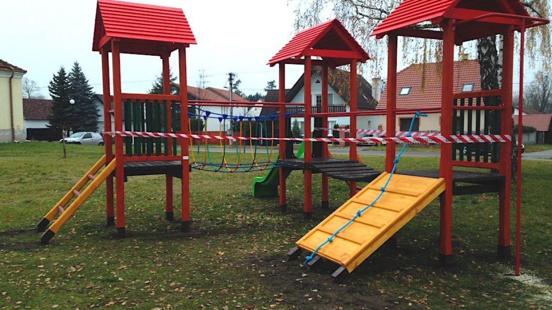 Zatvorené detské ihriská